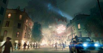 Uthaug med «Norges første storslåtte monsterfilm»