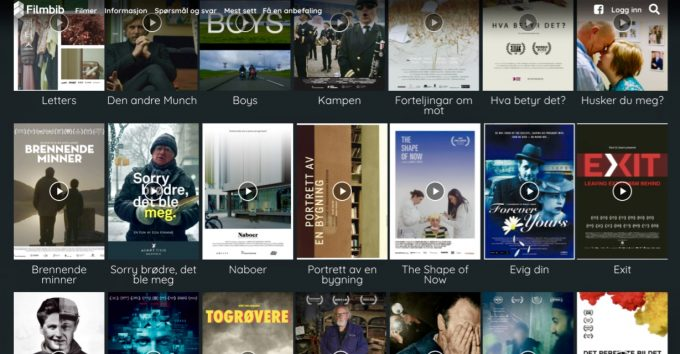 Se Filmbibs nye dokumentarfilmer