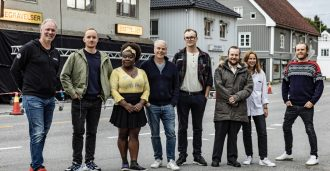 Zwart med humoristisk thrillerdrama for Netflix
