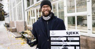 Nordisk Films talentpris til Benjamin Ree