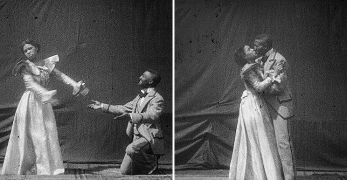 Første afroamerikanske filmkysset er funnet i Nasjonalbiblioteket