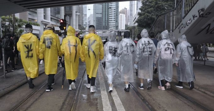 Hemmelig dokumentar i Cannes om overgrepene i Hongkong