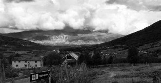 Viser skrekkfilm på viking-gravfelt